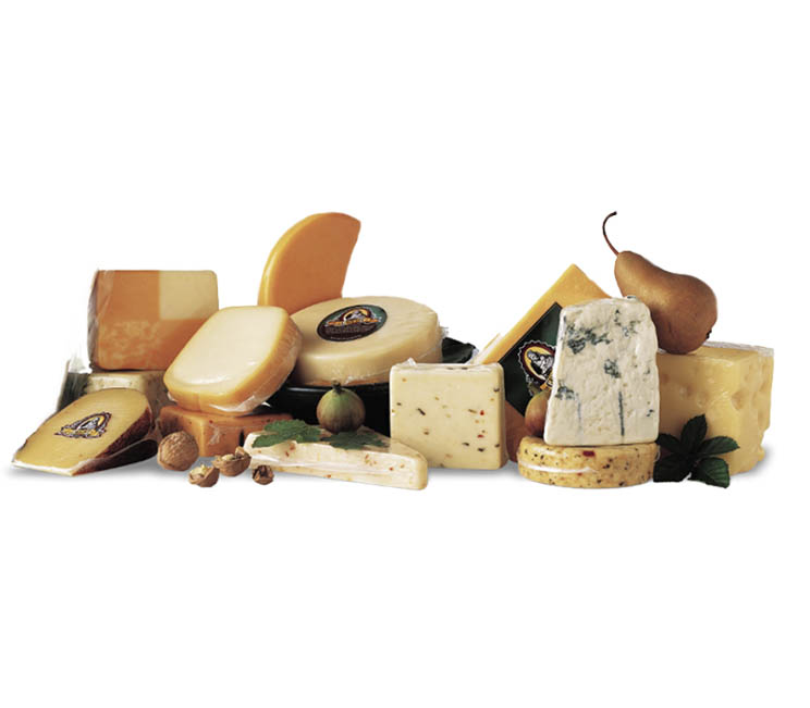 Krimpverpakking voor kaas